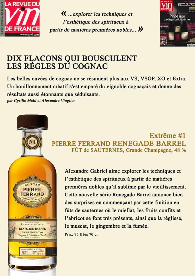 Pierre Ferrand Renegade Barrel: Extrême #1