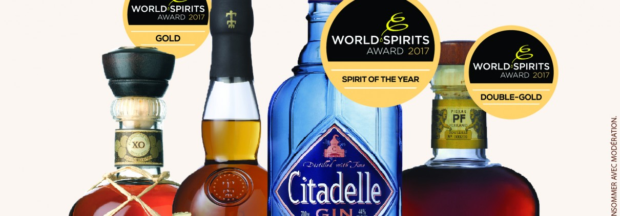3 - march 2017 world spirit award Citadelle SPIRIT OF THE YEAR