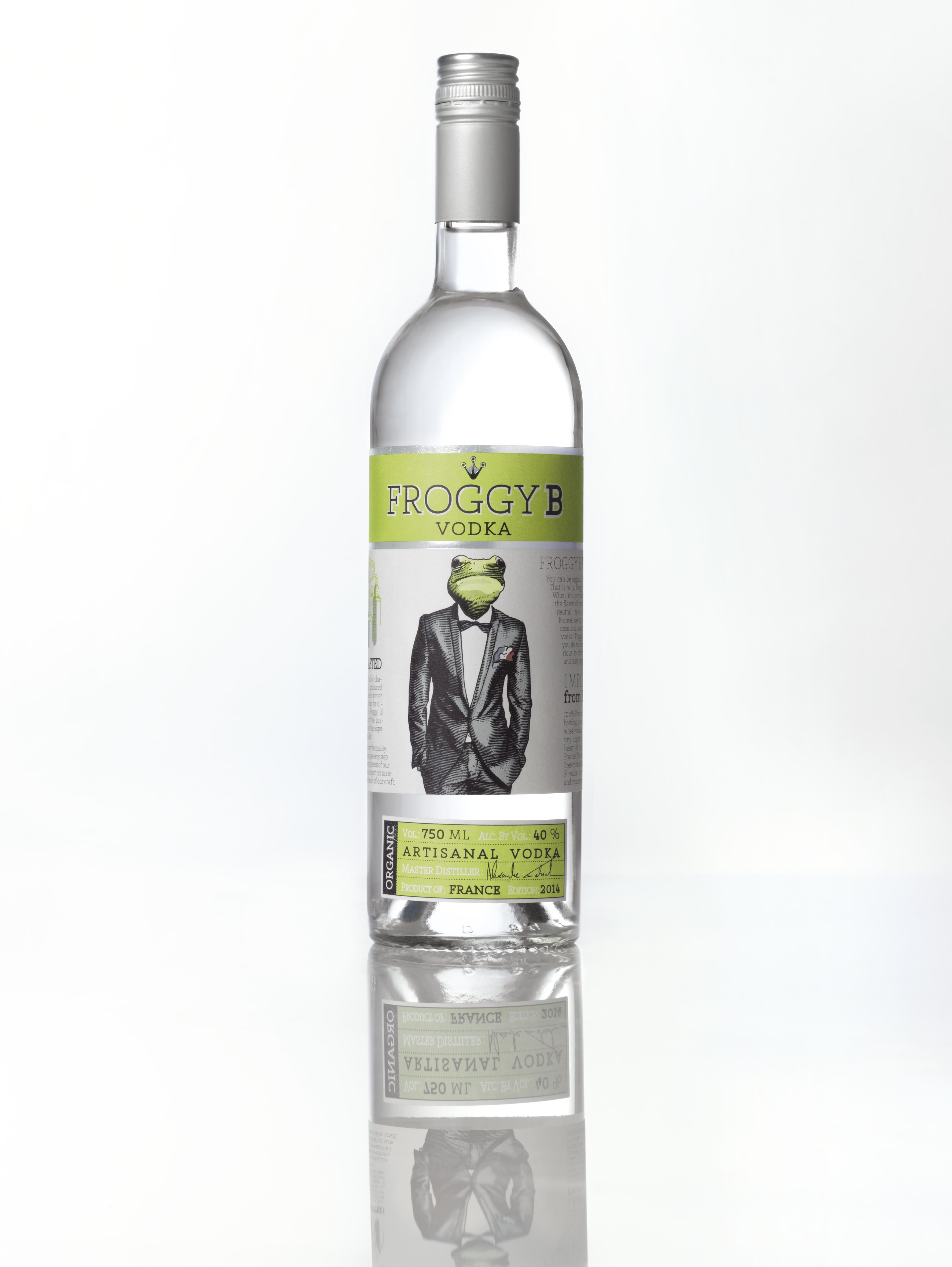 Maison Ferrand Froggy B Vodka